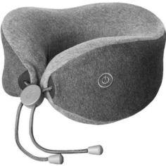 Акция на Массажер - Дорожная подушка LF Comfort-U Pillow Massager (LR-S100) от Allo UA