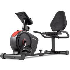 Акция на Горизонтальный велотренажер Hop-Sport HS-2050L Beat красный от Allo UA