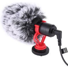 Акция на Микрофон Puluz PU3044 Video Mic (3.5mm) от Allo UA