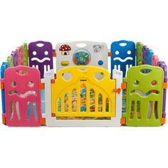 Акция на Детский манеж - ограждение Babyhit Magic Castle - Medium (71512) от Allo UA