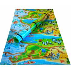 Акция на Детский туристический коврик (каремат) OSPORT Мадагаскар 120x200см (FI-0091-1) от Allo UA