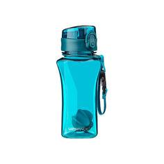 Акция на Бутылка для воды UZSPACE 6005 350 мл, голубая от Allo UA