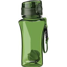 Акция на Бутылка для воды UZSPACE 6005 350 мл, зелёная от Allo UA