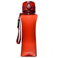 Акция на Бутылка для воды UZSPACE 6006 500 мл, красная от Allo UA