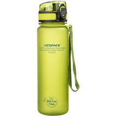 Акция на Бутылка для воды UZspace 3026 500 мл, салатовая от Allo UA