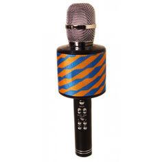Акция на Караоке-микрофон портативный Kronos Toys DM K-319 сине-желтый от Allo UA