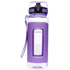Акция на Бутылка для воды UZspace 5045 700 мл, фиолетовая от Allo UA