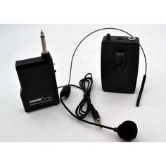 Акция на Микрофон DM SH 100C/wm-707 безпроводная гарнитура от Allo UA