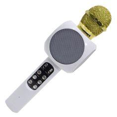 Акция на Беспроводной Bluetooth микрофон для караоке WSTER WS-1816, белый от Allo UA