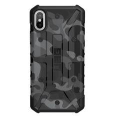 Акция на Чехол UAG iPhone X Pathfinder Camo Gray/Black от MOYO