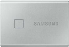Акция на Жорсткий диск Samsung Portable SSD T7 TOUCH 1TB USB 3.2 Type-C (MU-PC1T0S/WW) External Silver от Територія твоєї техніки