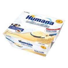 Акция на Манный пудинг Humana с ванилью 400 г 273529 ТМ: Humana от Antoshka