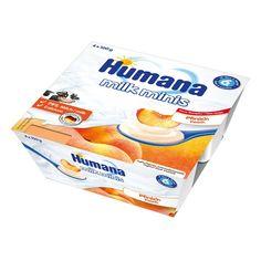 Акция на Продукт кисломолочный с персиком и пребиотиками, 400 г. 701121 ТМ: Humana от Antoshka