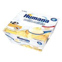 Акция на Продукт кисломолочный с бананом и пребиотиками, 400 г. 701091 ТМ: Humana от Antoshka