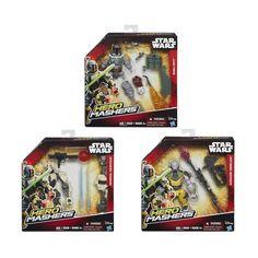 Акция на Фигурка Hasbro Star Wars Hero Mashers Delux (в ассорт.) B3666EU4 ТМ: Star Wars от Antoshka