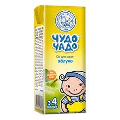 Акция на Сок Чудо-Чадо Яблоко без сахара 200 мл  ТМ: Чудо-Чадо от Antoshka