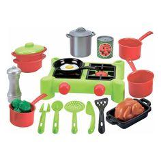 Акция на Игровой набор Ecoiffier Плита и посуда, 21 эл. 2649 ТМ: Ecoiffier от Antoshka