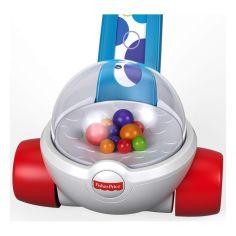 Акция на Игрушка-каталка с шариками Fisher-Price Попкорн FGY72 ТМ: Fisher-Price от Antoshka