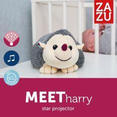Акция на Музыкальный проектор со звездами Zazu Harry Ежик  ZA-HARRY-01 ТМ: Zazu от Antoshka