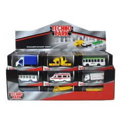 Акция на Модель Technopark Служебный транспорт (в ассорт) SB-19-01-CDU ТМ: Технопарк от Antoshka