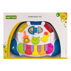 Акция на Игрушка Baby Team Пианино 8635 ТМ: BABY TEAM от Antoshka