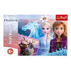 Акция на Пазл Trefl Disney Frozen 2 Отвага сестер 30 эл 18253 ТМ: Trefl от Antoshka