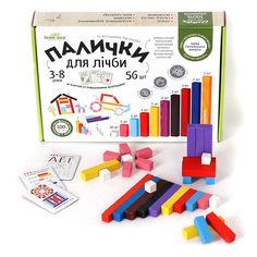 Акция на Счетные палочки Ігротеко Разноцветные 56 шт 900385 ТМ: Ігротеко от Antoshka