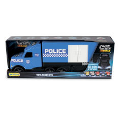 Акция на Грузовик Wader Magic Truck Полиция  36200 ТМ: Wader от Antoshka