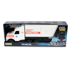 Акция на Грузовик Wader Magic Truck Скорая помощь 36210 ТМ: Wader от Antoshka