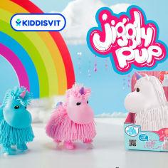 Акция на Интерактивная игрушка Jiggly Pup Единорог белый JP002-WB-WH ТМ: Jiggly Pup от Antoshka