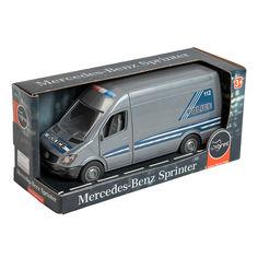 Акция на Полицейская машина Tigres Mercedes-Benz Sprinter 39665 ТМ: Tigres от Antoshka
