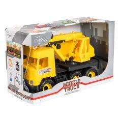 Акция на Кран Tigres Middle truck желтый 39491 ТМ: Tigres от Antoshka