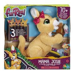 Акция на Интерактивная игрушка FurReal Friends Кенгуру Мама Джози с сюрпризом E67245L0 ТМ: FurReal Friends от Antoshka