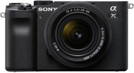 Акция на Фотоаппарат SONY Alpha a7C + 28-60mm Black (ILCE7CLB.CEC) от MOYO