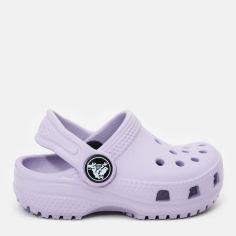 Сабо Crocs Kids Jibbitz Classic Clog K 204536-530-C4 19-20 11.5 см Светло-фиолетовые (191448191242) от Rozetka