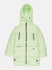 Акция на Зимняя куртка Одягайко 20004 146 см Салатовая (ROZ6400025251) от Rozetka
