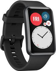 Акция на Смарт-часы Huawei Watch Fit Graphite Black (55025871) от Rozetka