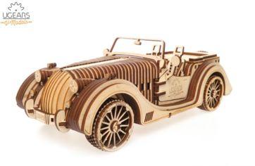 """Акция на Механический 3D пазл Ugears """"Родстер VM-01"""" (70052) от Stylus"""