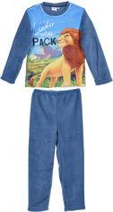 Пижама (футболка с длинными рукавами + штаны) Disney Roi Lion HS2215 98 см Navy (3609084024826) от Rozetka