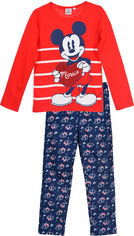 Пижама (футболка с длинными рукавами + штаны) Disney Minnie HS2088 3Y Red (3609084016906) от Rozetka