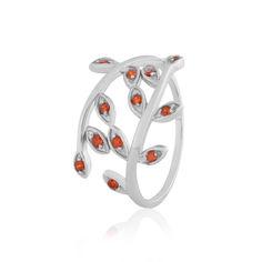 Акция на Кольцо из серебра с куб. циркониями, размер 18.5 (856231) от Allo UA
