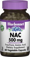 Акция на Аминокислота Bluebonnet Nutrition NAC (N-Ацетил-L-Цистеин) 500 мг 60 гелевых капсул (743715000643) от Rozetka