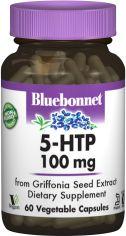 Акция на Аминокислота Bluebonnet Nutrition 5-HTP (Гидрокситриптофан) 100 мг 60 капсул (743715000513) от Rozetka