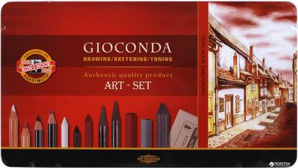 Акция на Художественный набор Koh-i-Noor Gioconda из 39 предметов (8891) (8593539057413) от Rozetka