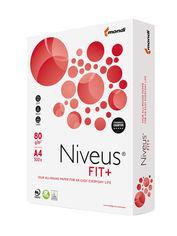 Акция на Набор бумаги офисной Niveus Fit+ A4 80 г/м2 класс B 5 пачек по 500 листов Белая (9003974460369) от Rozetka