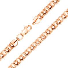 Акция на Золотой браслет в красном цвете плетения бисмарк 000119379 17.5 размера от Zlato
