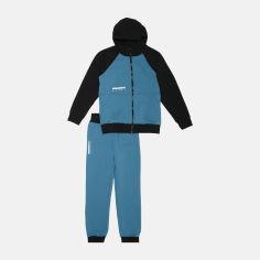 Акция на Спортивный костюм Smil 117229 116 см Стальной с синим (4824039183826) от Rozetka