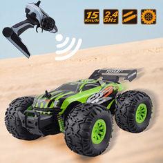 Акция на Джип вездеход Crazon Lightning Sports 171801B на радиоуправлении 2.4GHz, Машинка перевертыш Зелёный от Allo UA