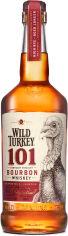 Акция на Бурбон Wild Turkey 101 до 8 лет выдержки 1 л 50.5% (8000040500081) от Rozetka