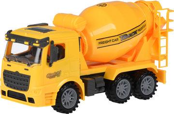 Акция на Машинка Same Toy Truck инерционная Бетономешалка Желтая (98-612Ut-1) от Rozetka